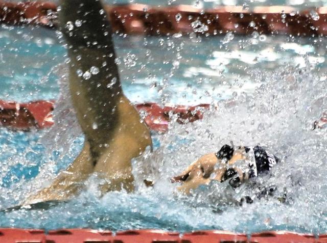 競泳・兵庫県短水路選手権 坂井、13年ぶり県記録更新 男子100m自由形