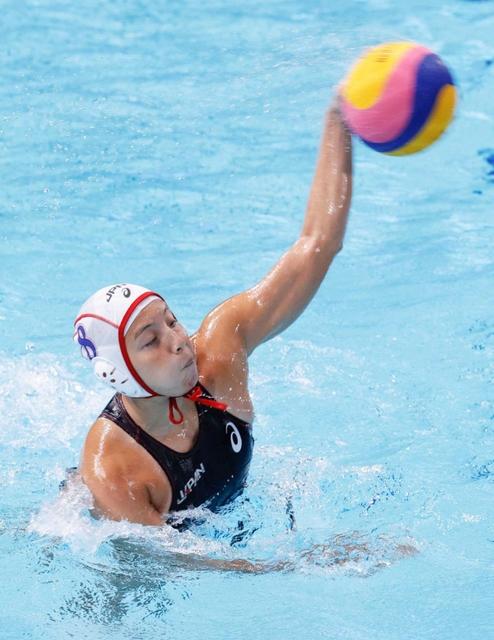 東京五輪〈兵庫のチカラ〉水球女子、初出場の日本は王者米に完敗 新沢「世界とは力の差」痛感