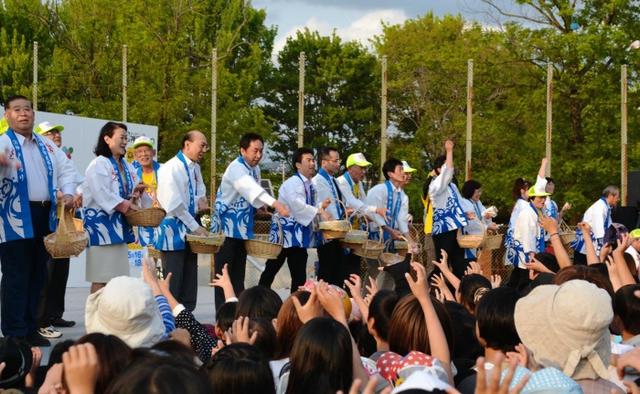 神戸市北区の「きたきたまつり」 神戸市北区の「きたきたまつり」 神戸市北区の鈴蘭公園であった「き
